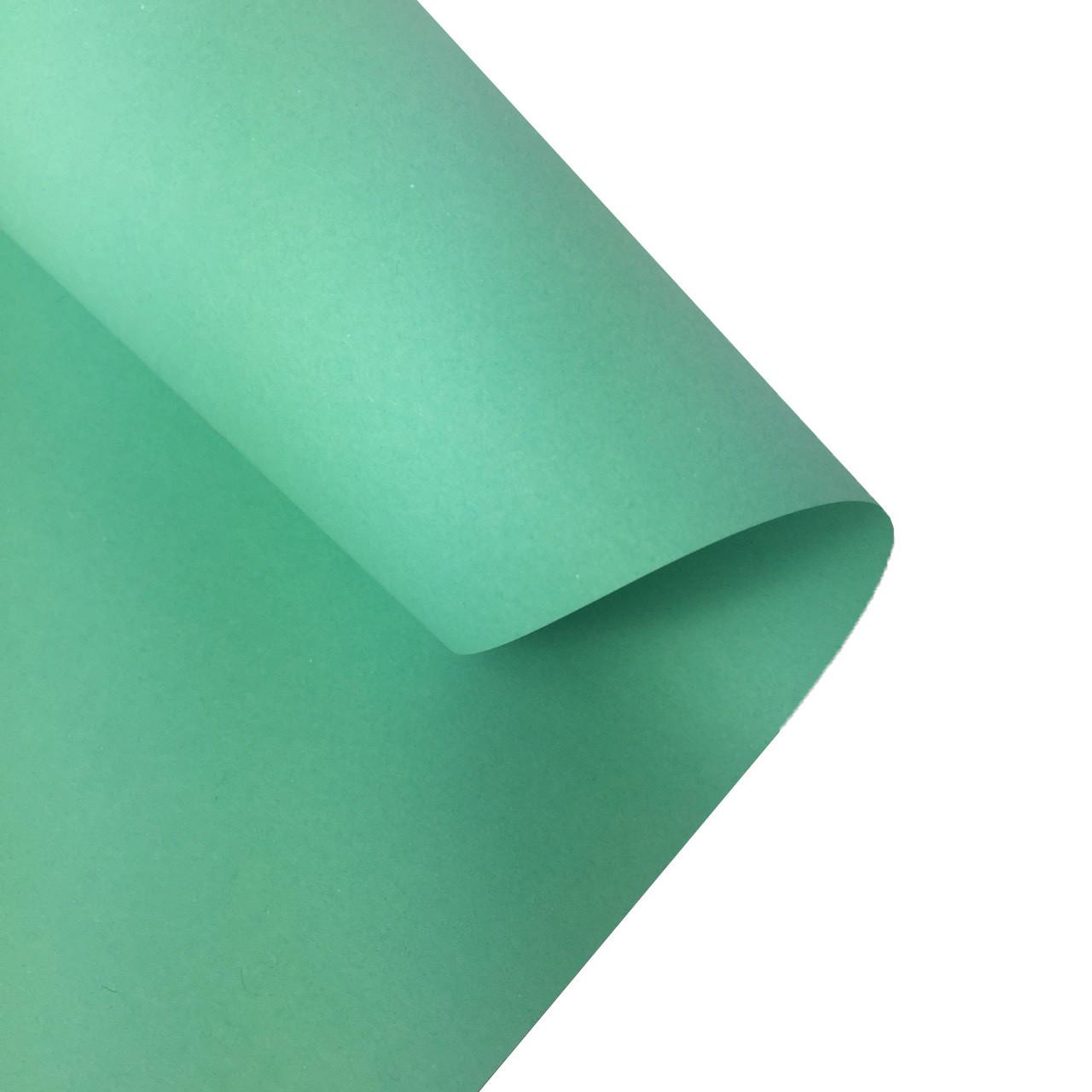 Бумага для дизайна Folia 130 г/м2, 50 x 70, нежно-мятная