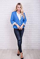 Пиджак с рукавом 3/4 RUBIN - голубой цвет, L (есть размеры), фото 1