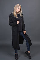 Классический кардиган с капюшоном PPF style - черный цвет, L/XL (есть размеры)