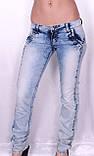Облегченные женские джинсы, фото 2