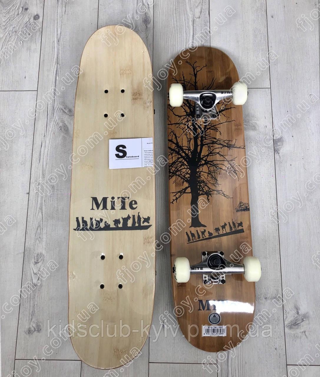 Скейтборд скейт MITE из канадского клена