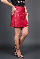 Юбка LUREX - красный цвет, L (есть размеры)