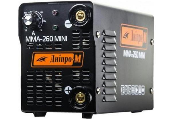 Сварочный инвертор Дніпро-М MINI 260 ММА