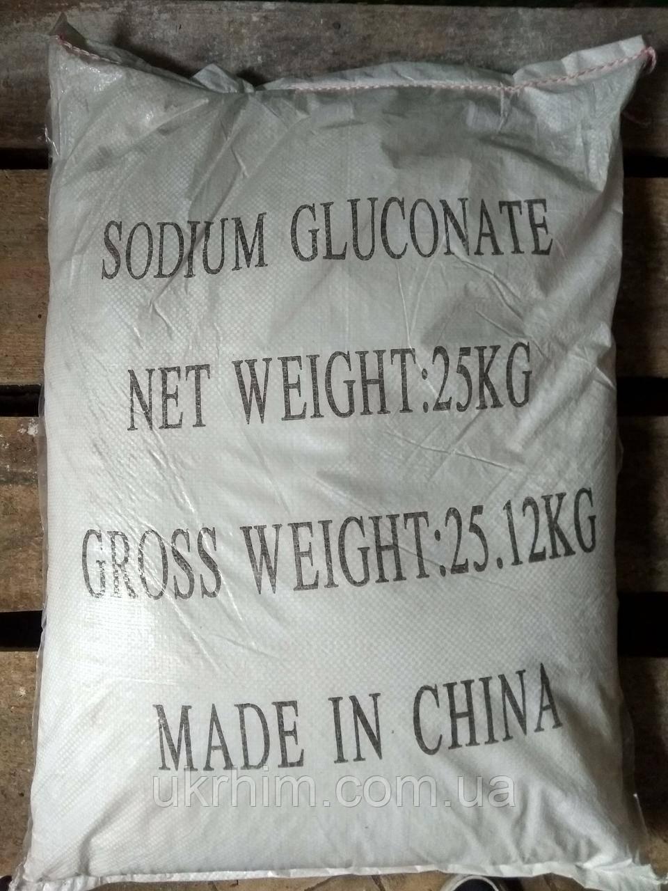 Глюконат натрію харч