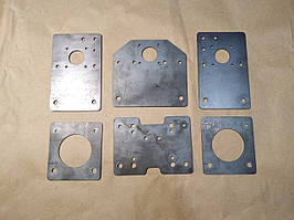 Комплект пластин для профілю 20x40 V-slot, сталь