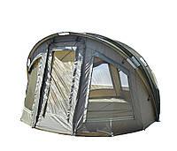Палатка карповая Carp Zoom Adventure 3+1 Bivvy, фото 1