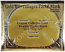 Маска для лица очищающая коллагеновая с биозолотом и ромашкой Gold Collagen Crystal Facial Mask (Золото)
