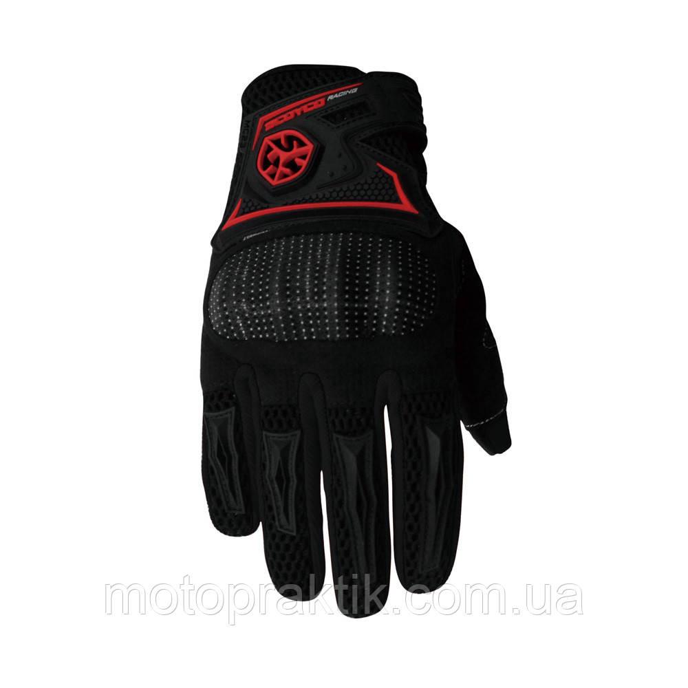SCOYCO MC23 Gloves, Black, M Мотоперчатки текстильные с защитой