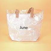 Силіконова сумка середнього розміру біла