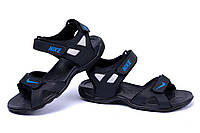 Мужские кожаные сандалии  Nike Air Max Best Vak (реплика)