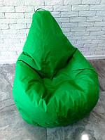 Бескаркасное Кресло мешок пуфик 120x75 Oxford 600d зеленый Изумруд