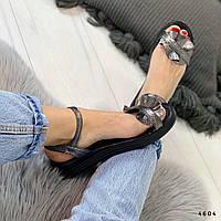 Женские босоножки бронза 4604, фото 1