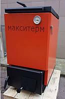 Шахтный котел Макситерм Холмова Классик 12 кВт утеплённый длительного горения