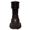Вентиляционный выход Kronoplast KBN для металлочерепицы профиля Монтерей  D-150 мм коричневый