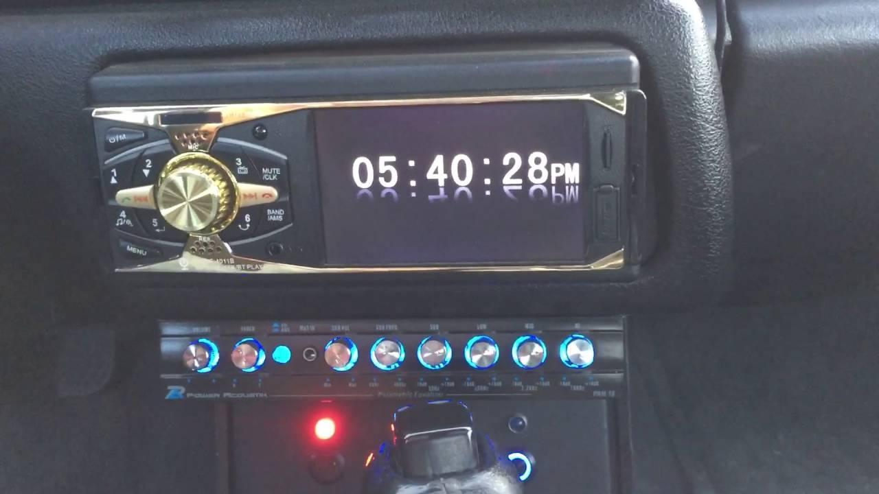 Автомагнитола MP5 4011B TFT 4.1 дюйма ISO Bluetooth