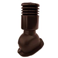Вентиляционный выход Kronoplast KBNО для металлочерепицы профиля Монтерей  D-125 мм коричневый