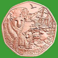 Австрия 5 евро 2014 г. Путешествие в Арктику, UNC.