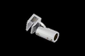 Соединитель стекло-труба Ø19 мм. хром, фото 3