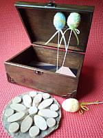 Декоративная шкатулка с фурнитурой (20х15х9см)