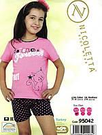 Пижама летняя для девочек  Nicoletta   95042