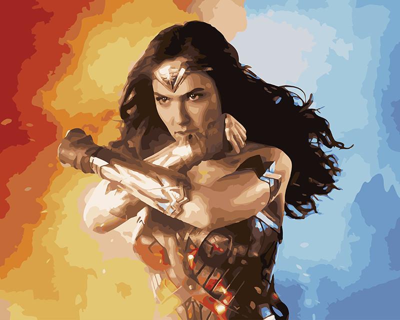 Картина по номерам Супер женщина, 40x50 см., Brushme