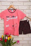 Пижама летняя  с шортами для девочек  Nicoletta   95042