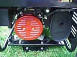 Трифазний генератор з автозапуском з Німеччини 6.5 Квт, фото 5