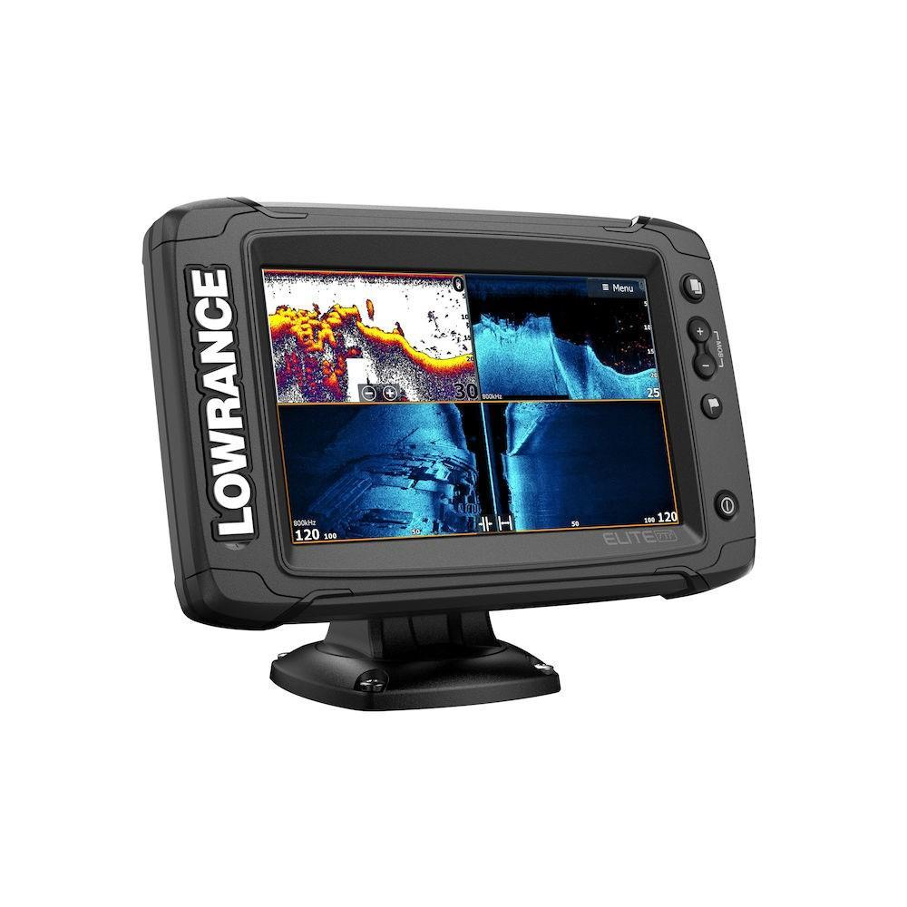 Ехолот Картплотер Lowrance Elite-7 Ti2 Active Imaging 3in1 + Navionics Platinum