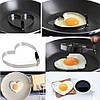 Форма для выпечки, жарки яиц, блинов Heart, фото 5