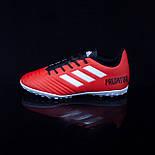 Сороконожки Adidas Predator 19.4 TF (39-40), фото 5