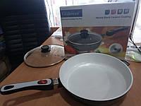 Сковорода с керамическим покрытием Giakoma 28 см G-1033-28white