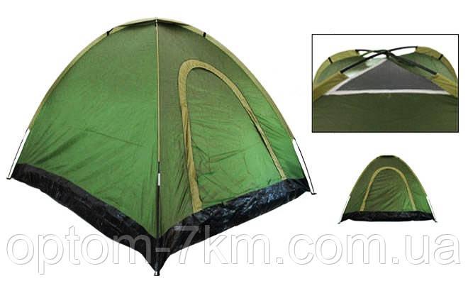 Палатка-автомат с автоматическим каркасом 2-х местная 2x1.5 am