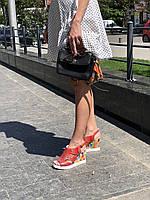 Босоножки кожаные женские на платформе Alpino, 38
