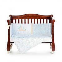 Постельный комплект для новорожденных Veres Pin pin blue, фото 1