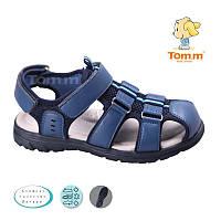 Летние открытые кроссовки, босоножки, Сандалии закрытый носок Том.М. размер 32-37