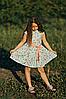 Легкое летнее платье для девочки мятного цвета