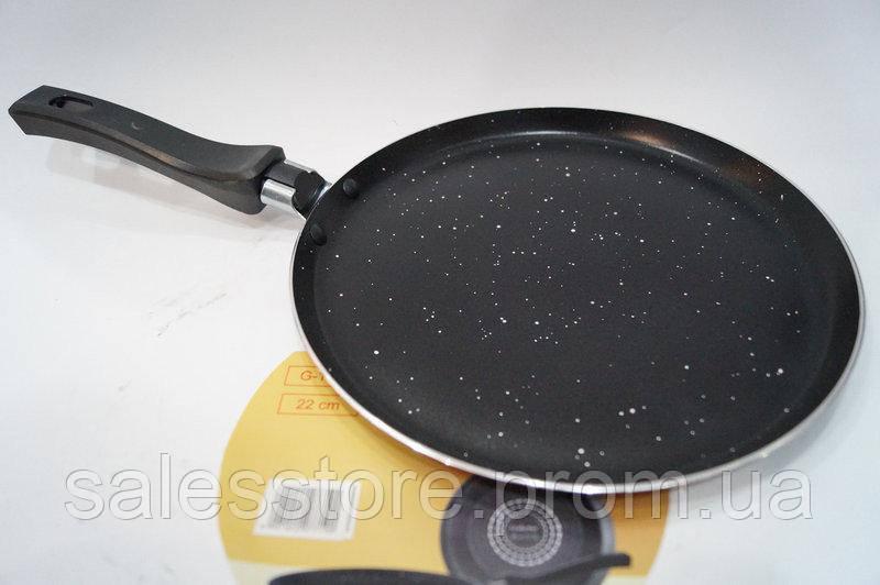 Сковорода блинная Giakoma G-1022 качественная с мраморным покрытием