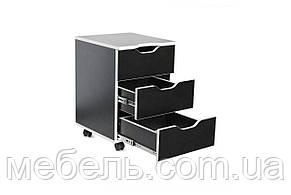 Офисный столс тумбой Barsky Game White LED HG-06/LED/CUP-06/ПК-01, фото 2