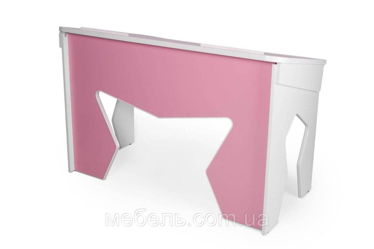 Компьютерный стол для детей Barsky Student Rose 1200x600x750 Student-02