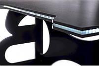Игровой компьютерный стол Barsky Homework Game White HG-06 LED 1400*700