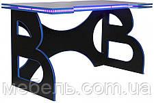 Компьютерный стол для детей Barsky Homework Game Blue HG-04 LED 1400*700, фото 3