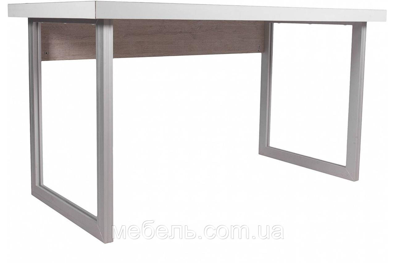 Компьютерные столы стол руководителя Barsky Office Allu White\Oregon 1400x700x750, OFWO alu-01