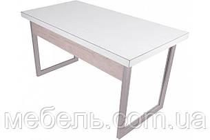 Компьютерный стол для детей Barsky Office Allu White\Oregon 1400x700x750, OFWO alu-01, фото 2