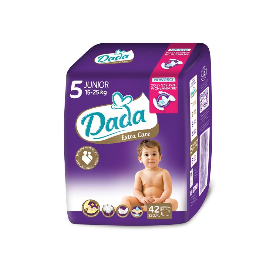 Подгузники Dada Extra Care Junior 5 (11-25кг), 42шт