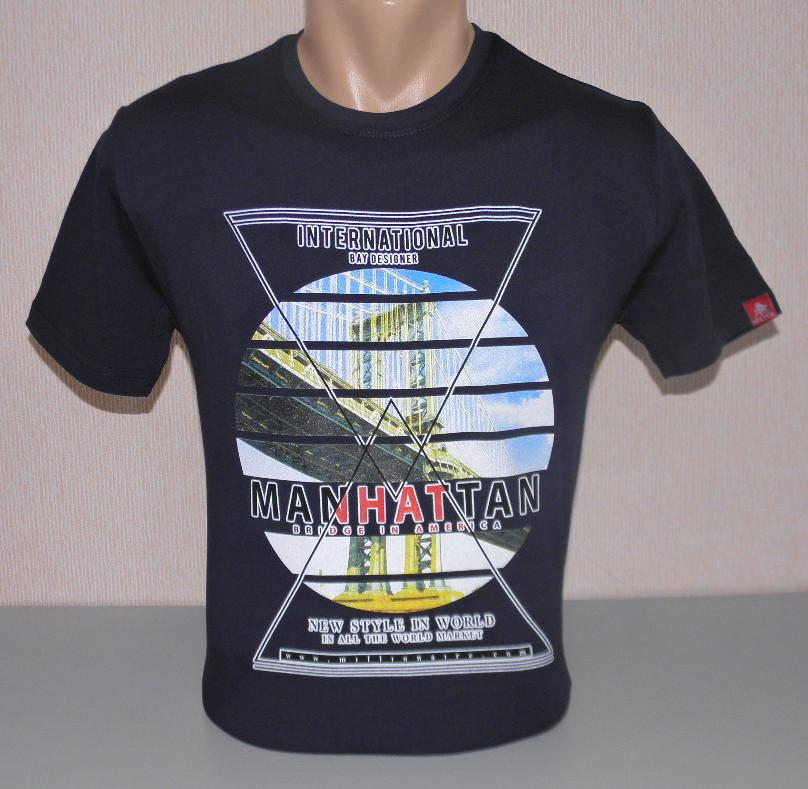 Мужская футболка hector M раз (5058)