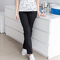 Медицинские женские брюки черный