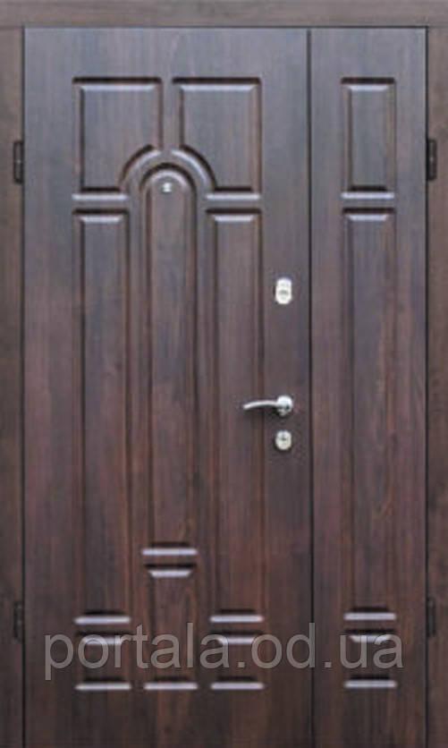 Вхідна полутрорная броньовані двері (Портала, серія Комфорт) ― модель Арка