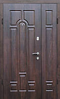 Входная полутрорная бронированная дверь (Портала, серия Комфорт) ― модель Арка, фото 1