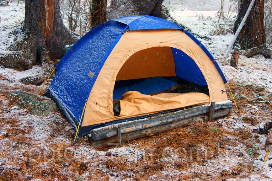 Туристическая палатка  2x1.5 2-х местная am