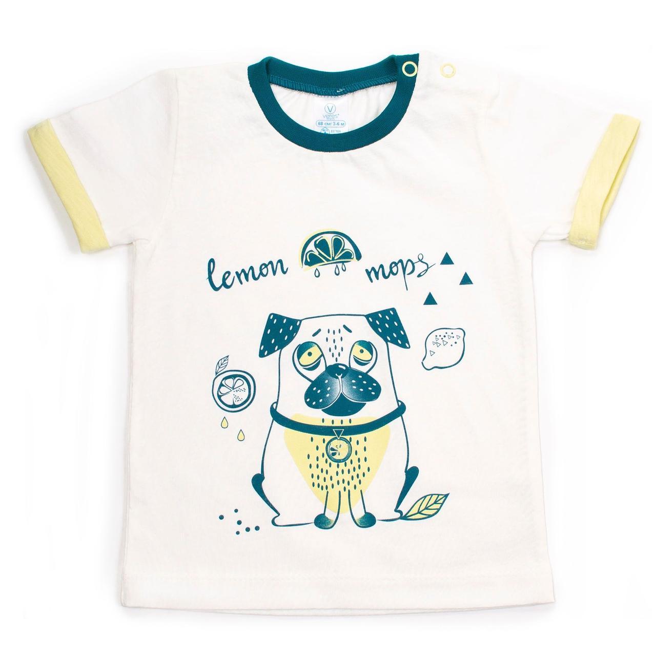 Футболка Верес Lemon Doggy-2 кулир размер белый